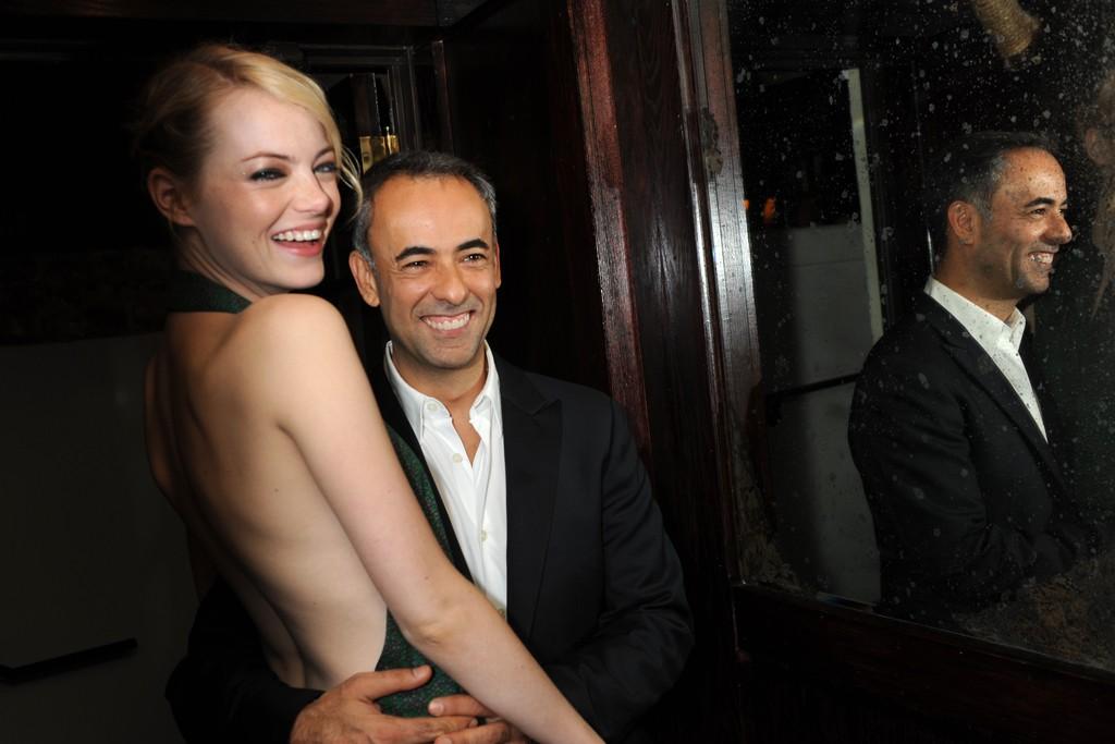 Emma Stone in Calvin Klein and Francisco Costa.