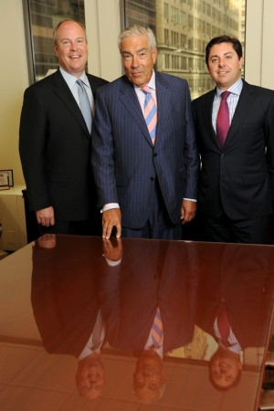 John Berg, Gilbert Harrison and Colin Welch.