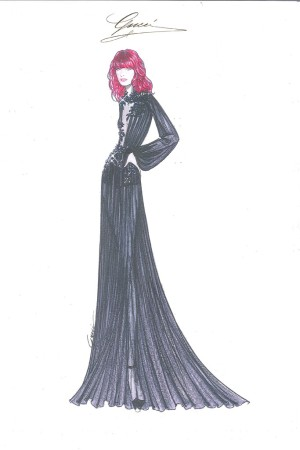 A Gucci look for Florence Welch.