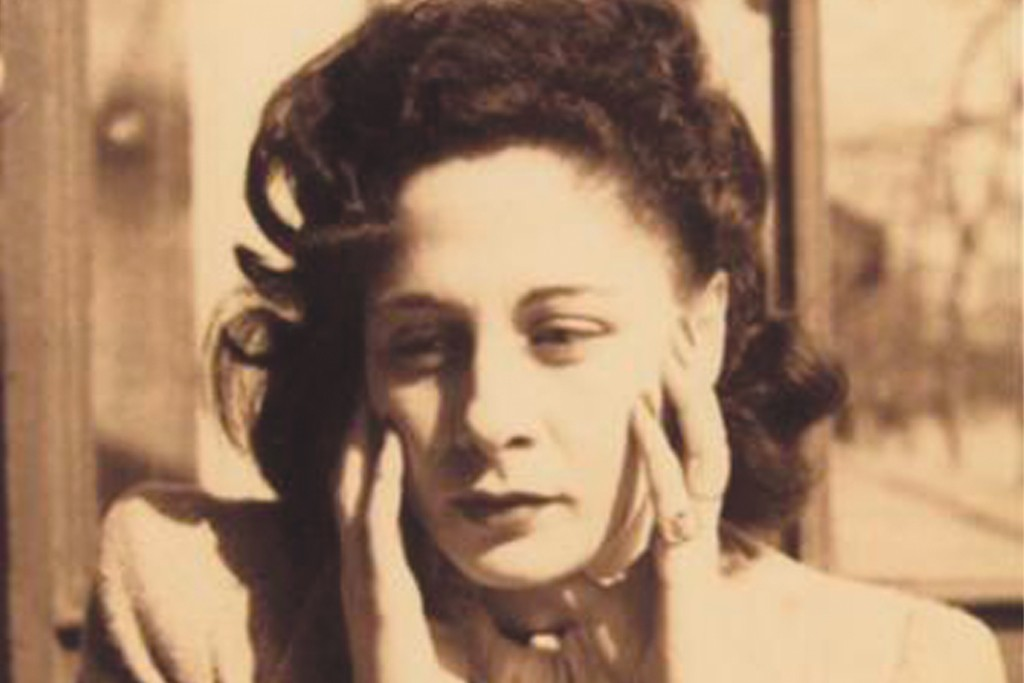 An undated photo of Gaby Aghion, shot by her husband, Raymond.