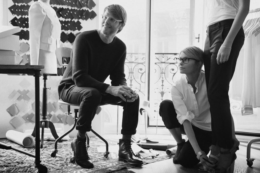 Samuel Fernström and Anna Teurnell in their Paris design studio.