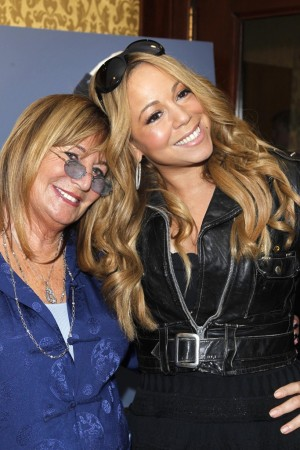 Penny Marshall and Mariah Carey.