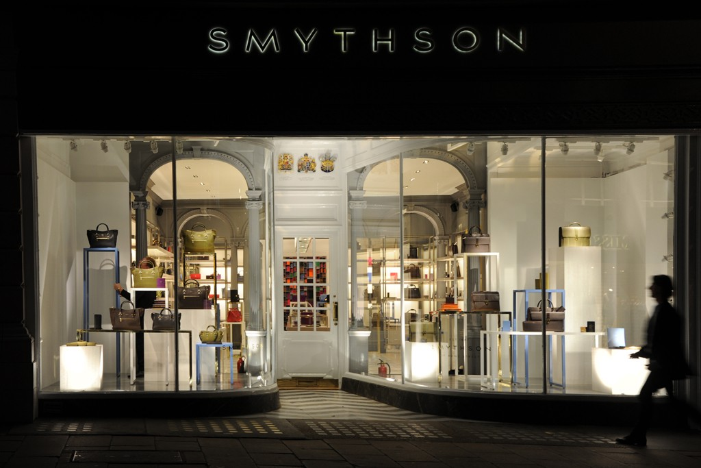 A view of the Smythson Bond Street store.