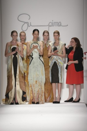 Fifth Annual Supima Design Competition winner, Kate Wilkoff