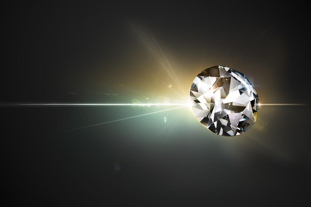 A Swarovski crystal.