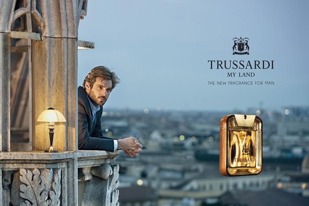 The Trussardi ad visual.
