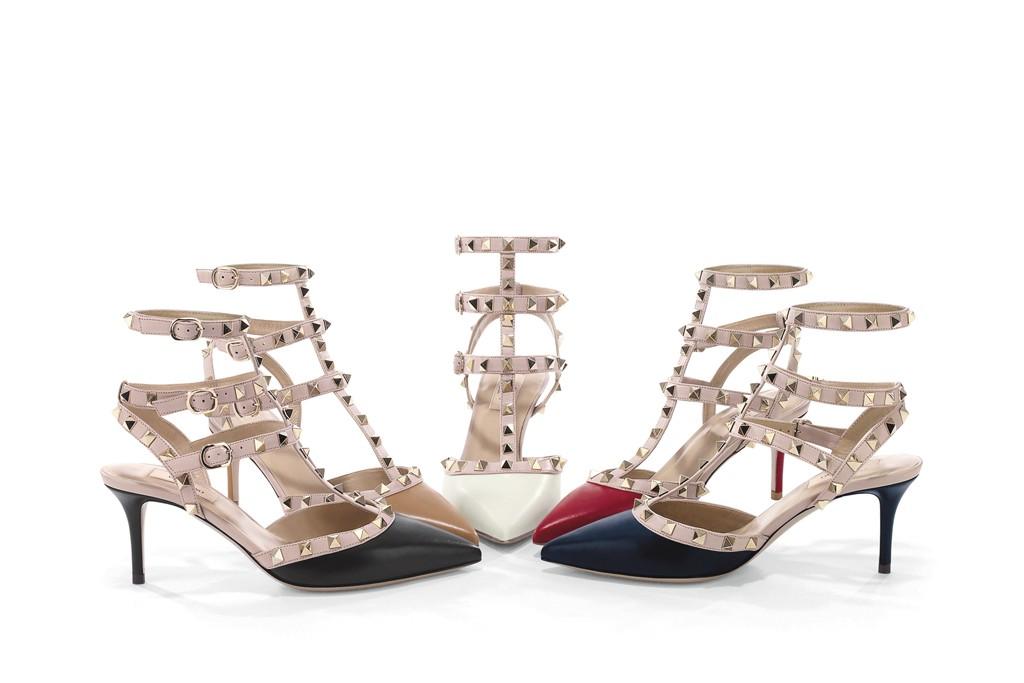 Valentino Garavani Rockstud shoes, 2011.