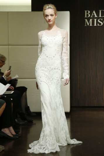 Badgley Mischka Bridal Fall 2013