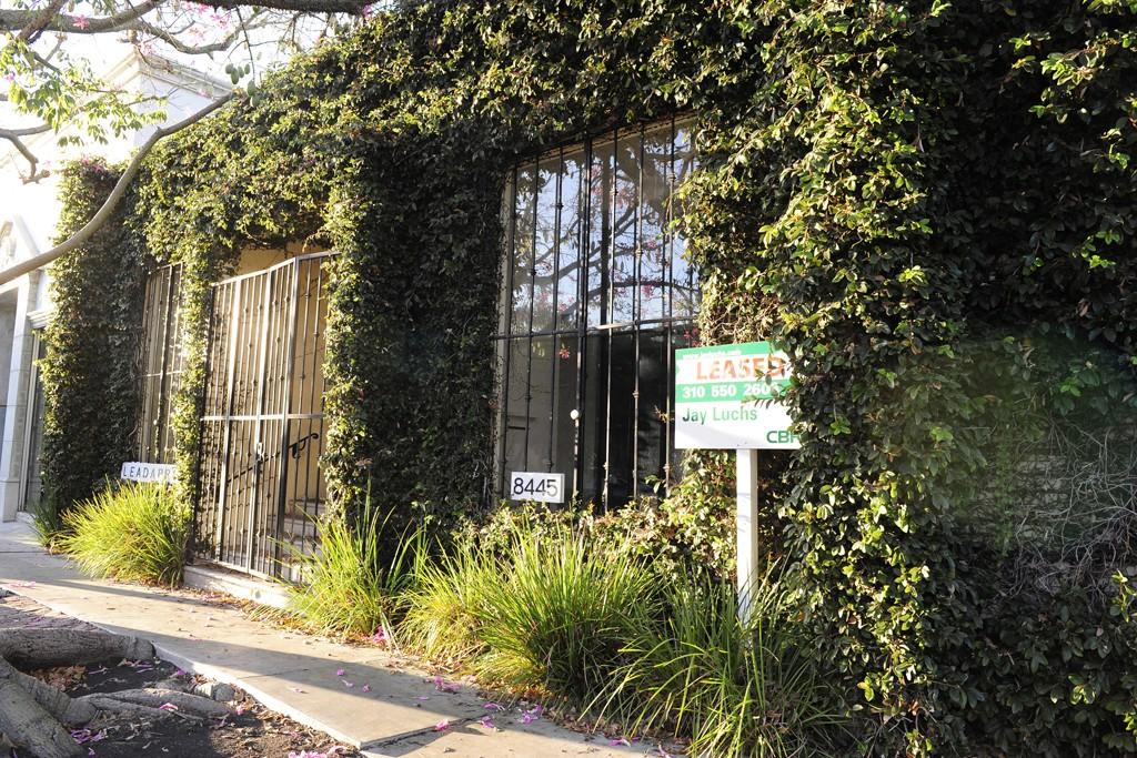 Bottega Veneta's future home on Melrose Place.
