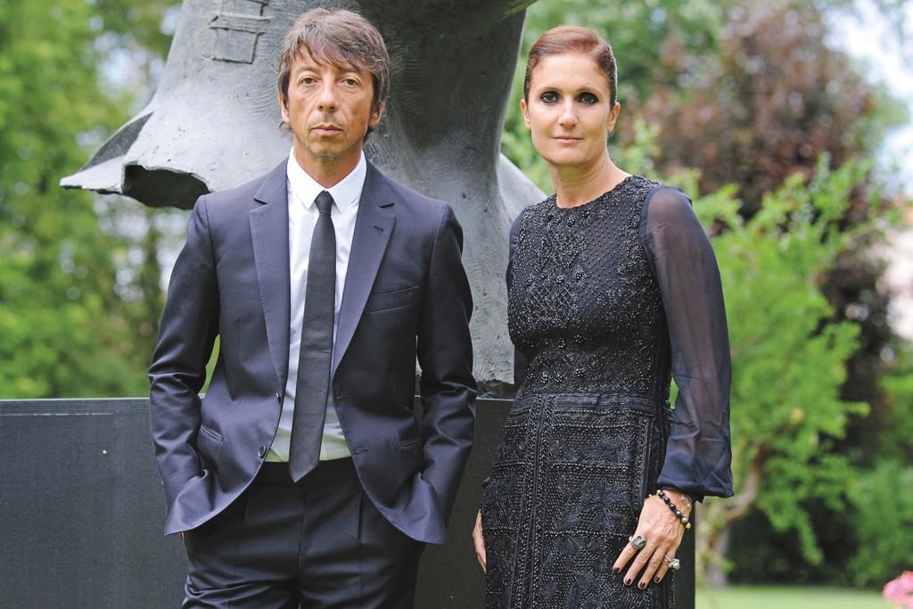 Pierpaolo Piccioli and Maria Grazia Chiuri