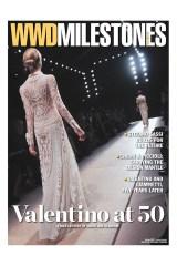 WWD Milestones Valentino at 50