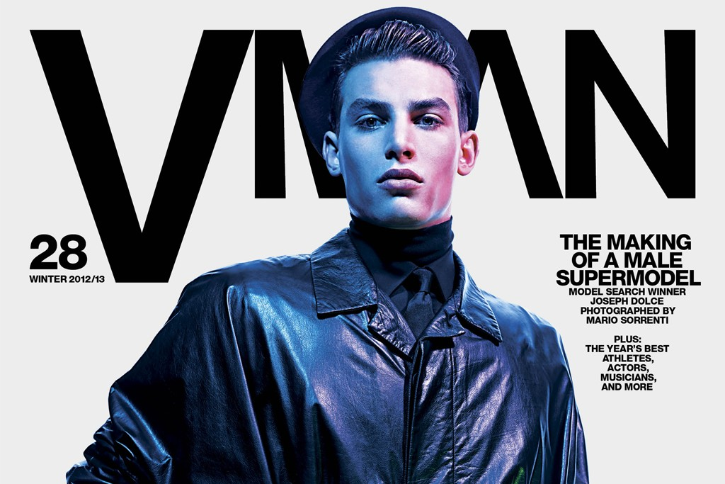 The new issue of VMan.