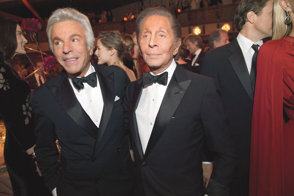 Giancarlo Giammetti and Valentino at the New York City Ballet in September.