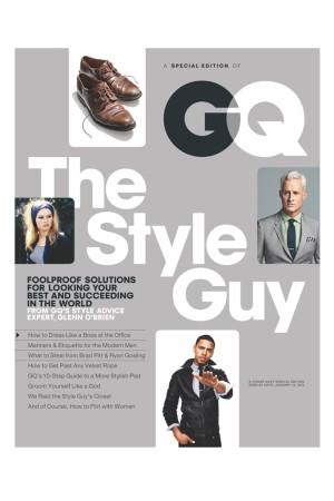 """The Style Guy"" issue of GQ."