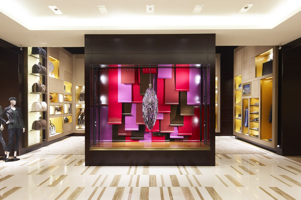 Louis Vuitton's store at the Cidade Jardim mall in Brazil.