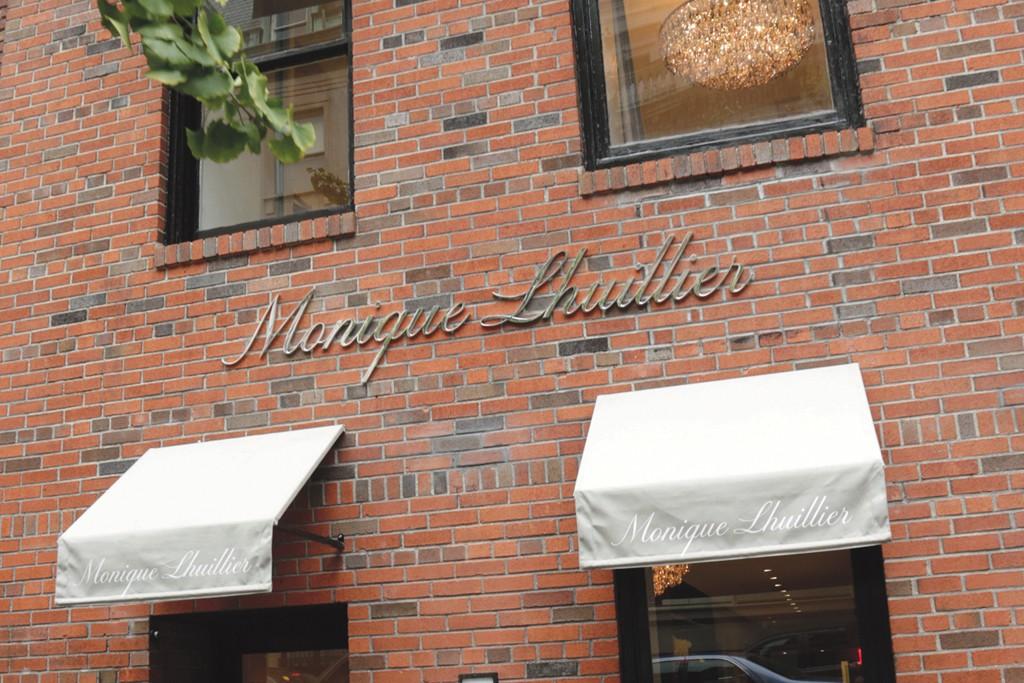 A view of the Monique Lhuillier store.