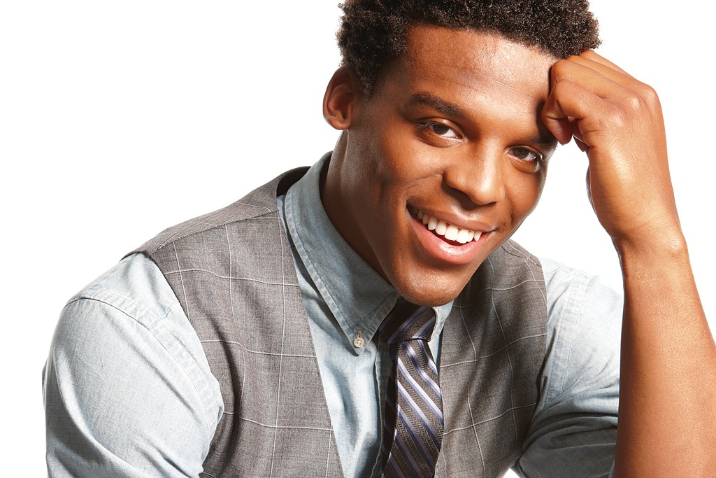 Cam Newton in his collection for Belk.