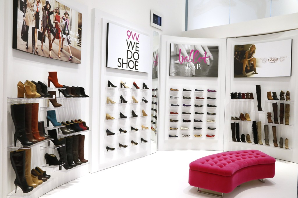 A view of the Nine West flagship.