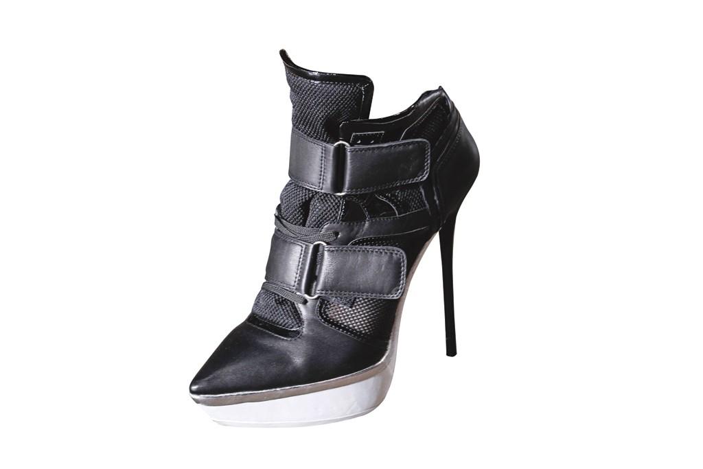 A DKNY heel.