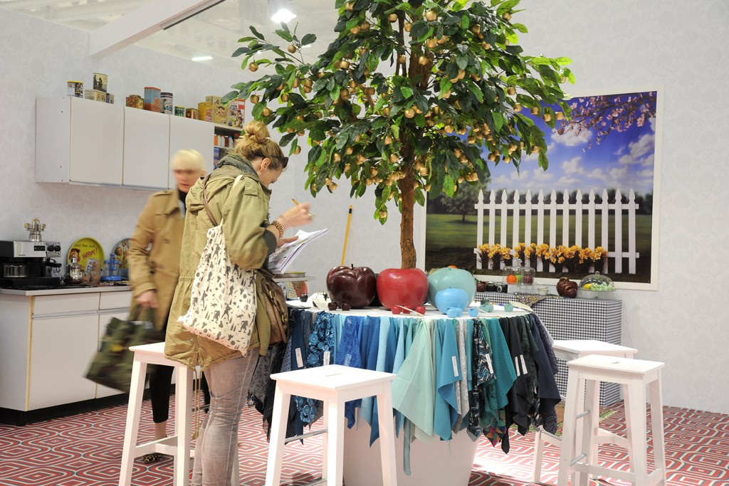 Texworld and Apparel Sourcing had visitors from over 100 countries.