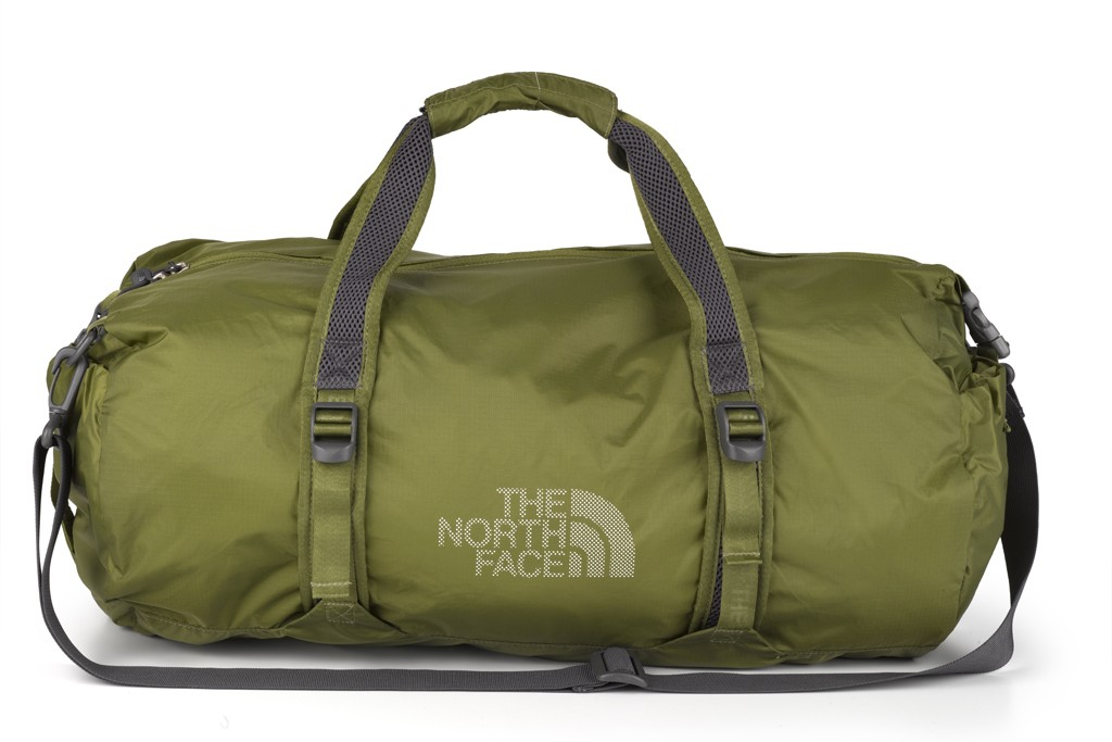 A bag from The North Face.