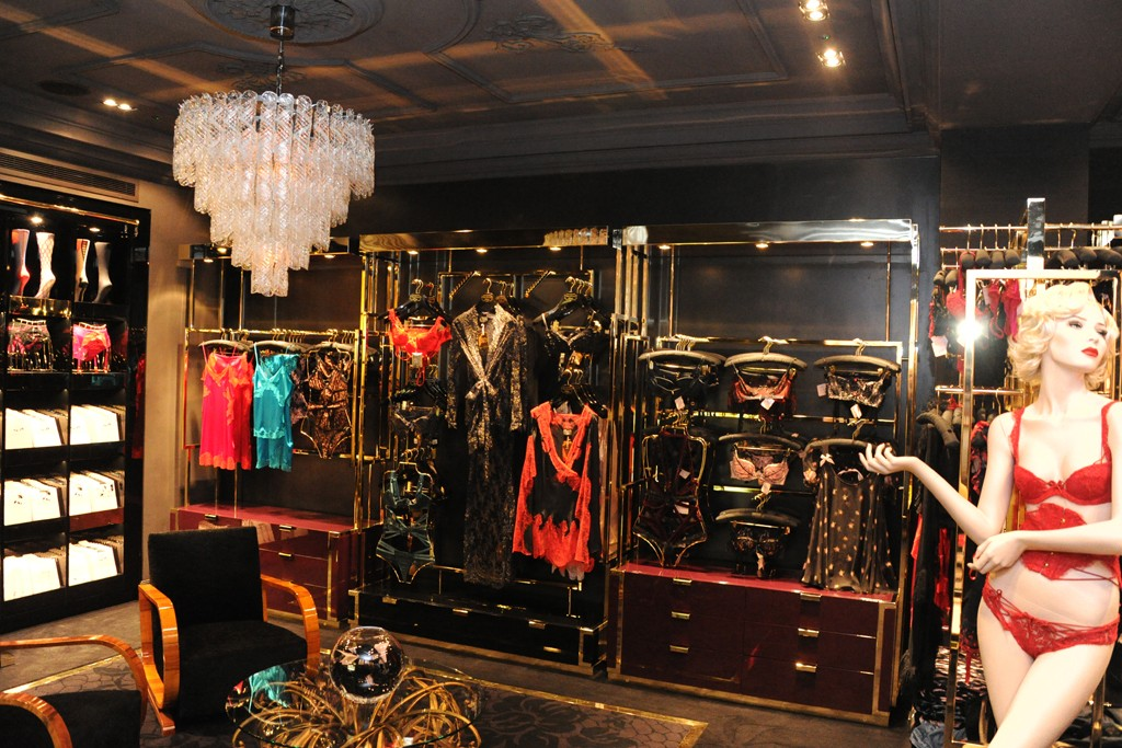 A view of the Agent Provocateur store in London.