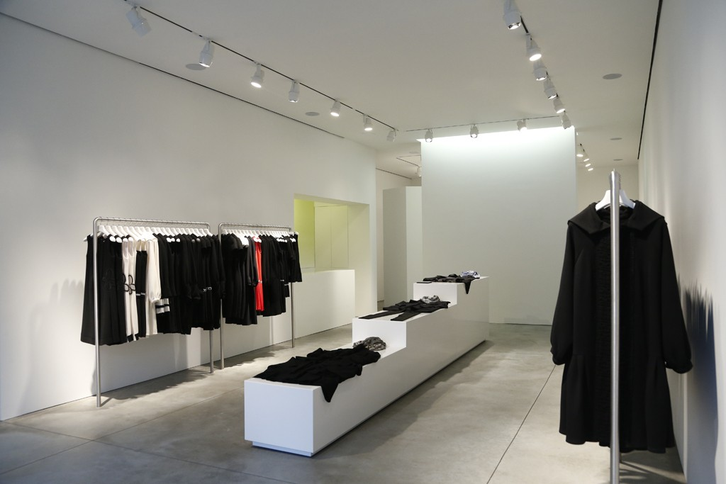 A view of the Amelia Toro flagship on 10th Avenue in New York.