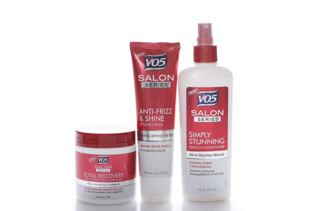 V05's Salon Series products.