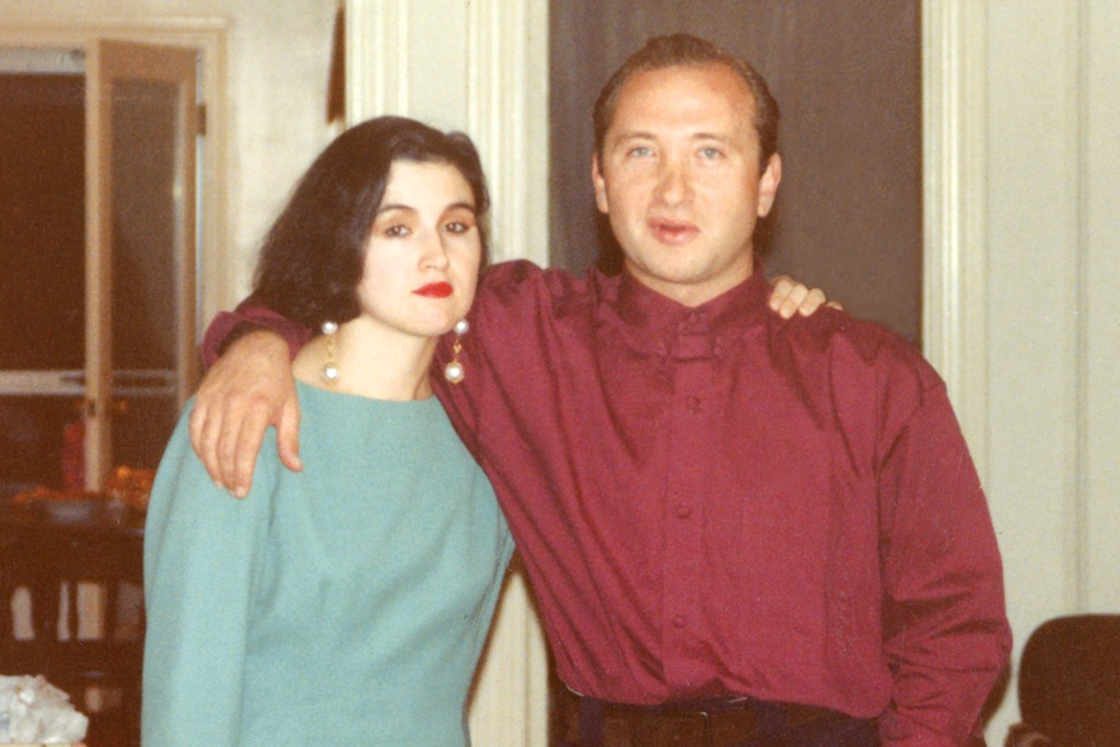 Alina Roytberg and Lev Glazman in the late Nineties.