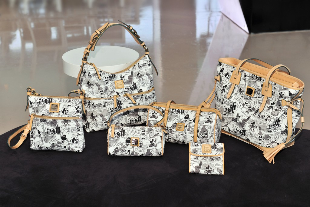 Disney bags by Dooney & Bourke.