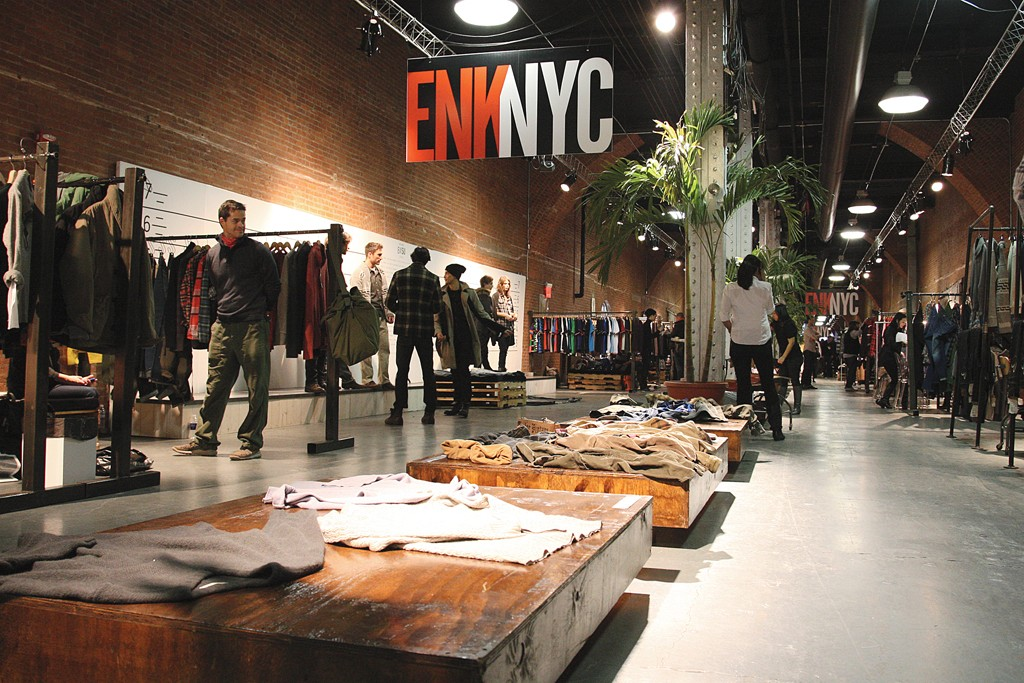 The interior of ENK NYC show at The Tunnel.