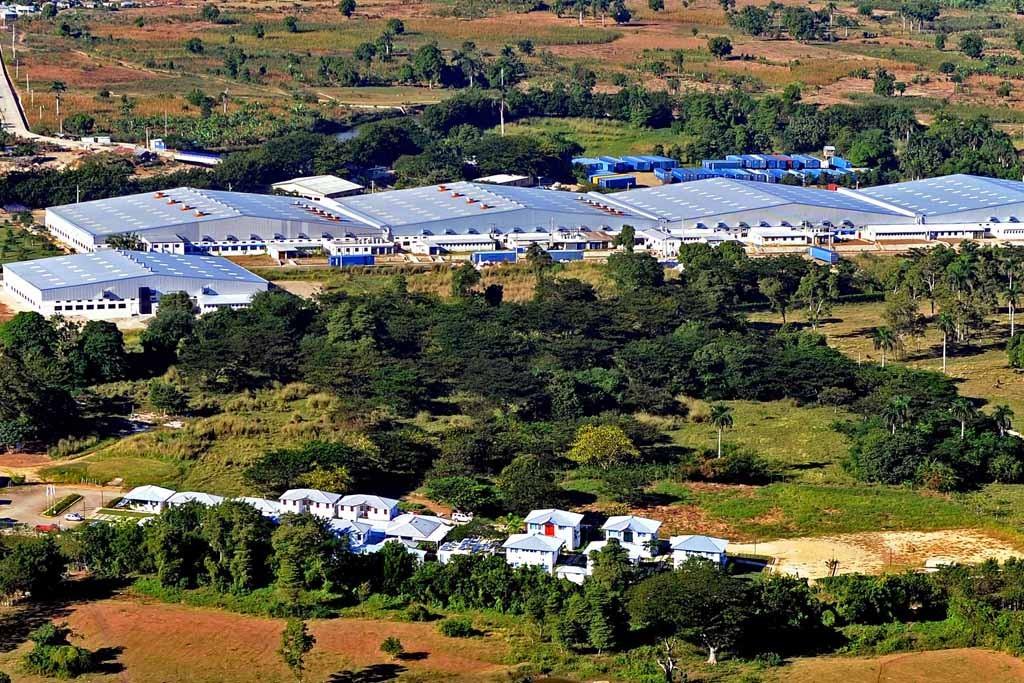 The Haitian production facilities.