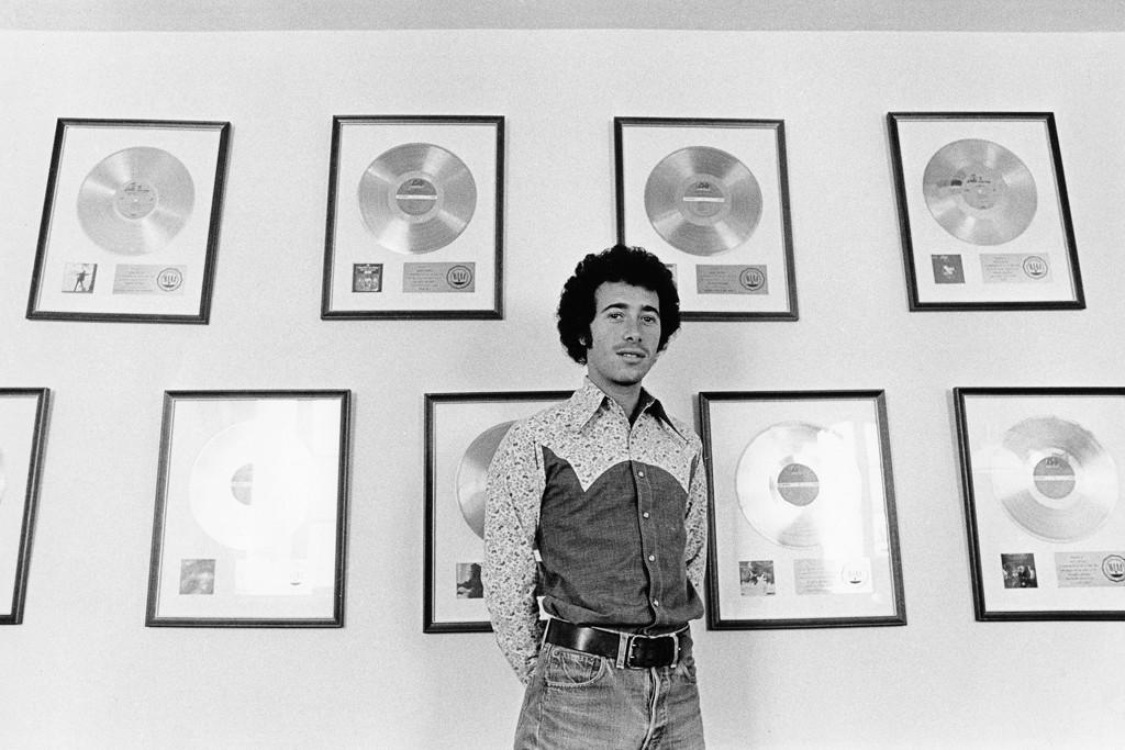 David Geffen, circa 1972.