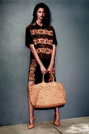 "A visual from Bottega Veneta's ""Art of Collaboration"" cruise campaign."