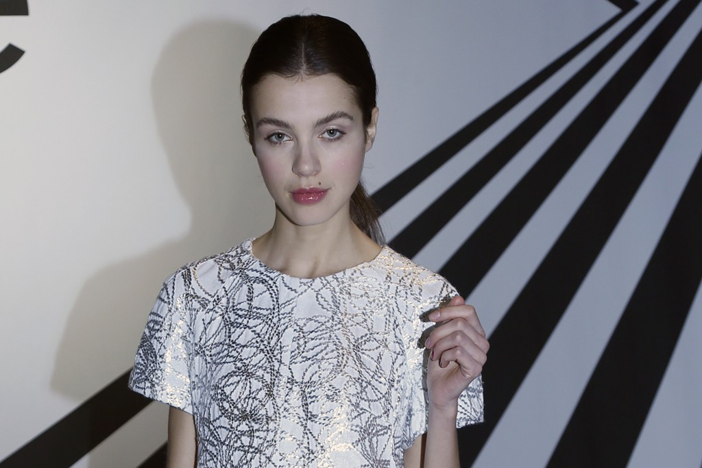 A roped embroidery dress from Joe Fresh.