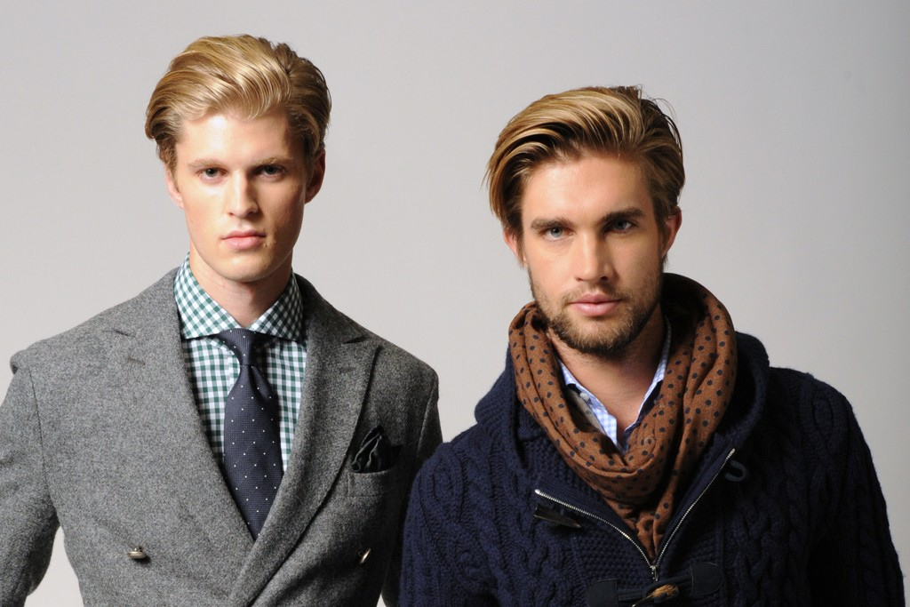 Looks from the fall 2013 collection.