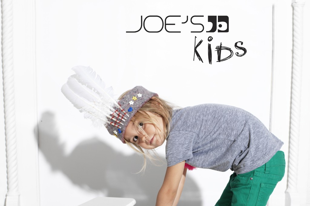 Having more than doubled in size over the last four years, Joe's Jeans' kids division now makes up 10 to 15 percent of total sales.