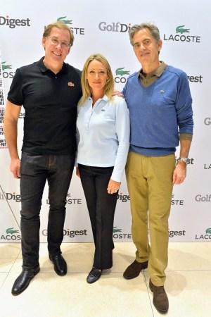 Steve Birkhold, Cristie Kerr and Pete Hunsinger.