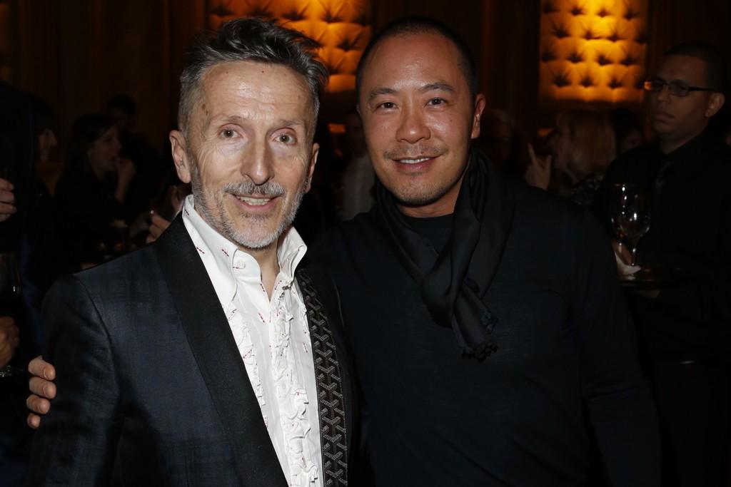 Simon Doonan and Derek Lam.