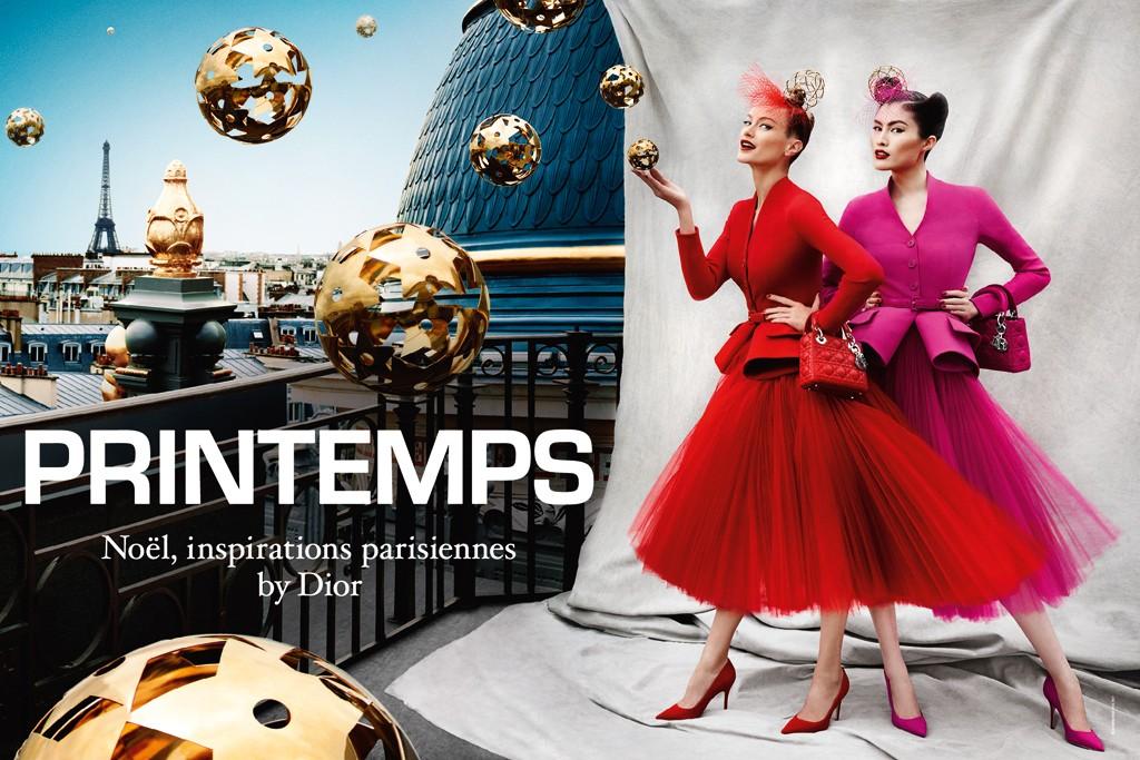The Printemps ad campaign