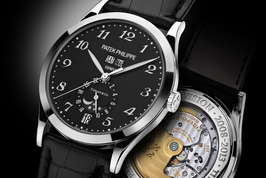 Limited edition men's watches from Patek Philippe and Tiffany.
