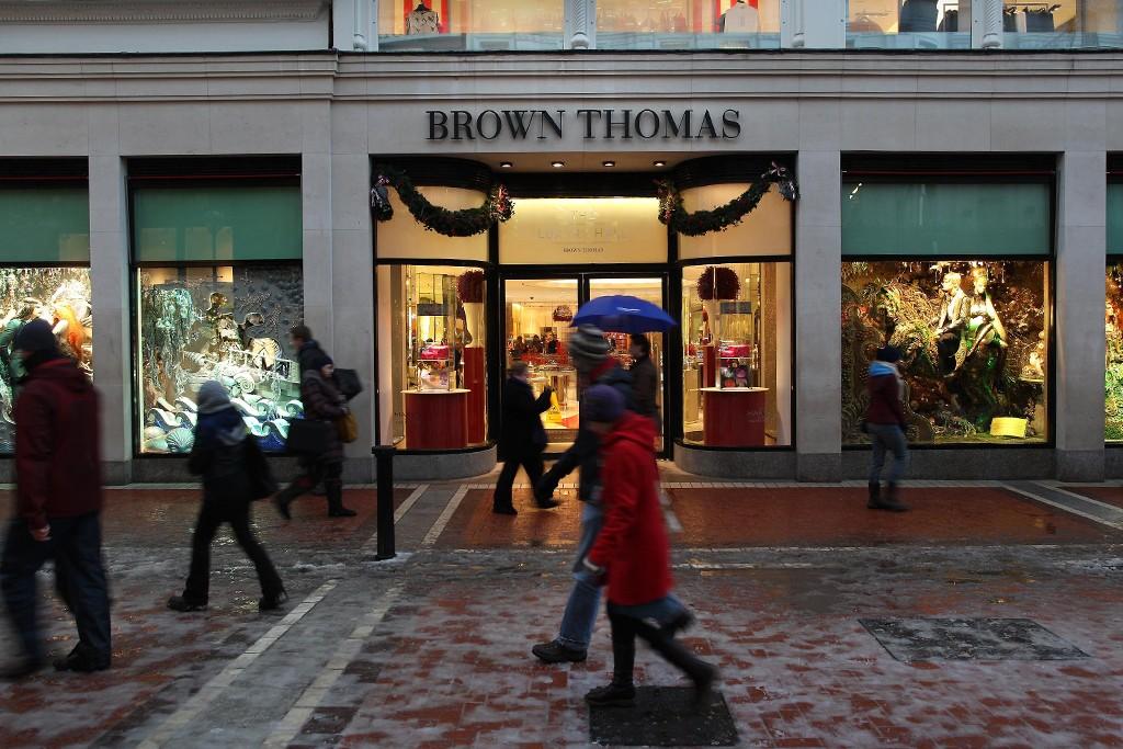 Brown Thomas in Ireland.