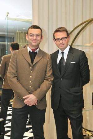 Francesco Russo and Christophe Melard