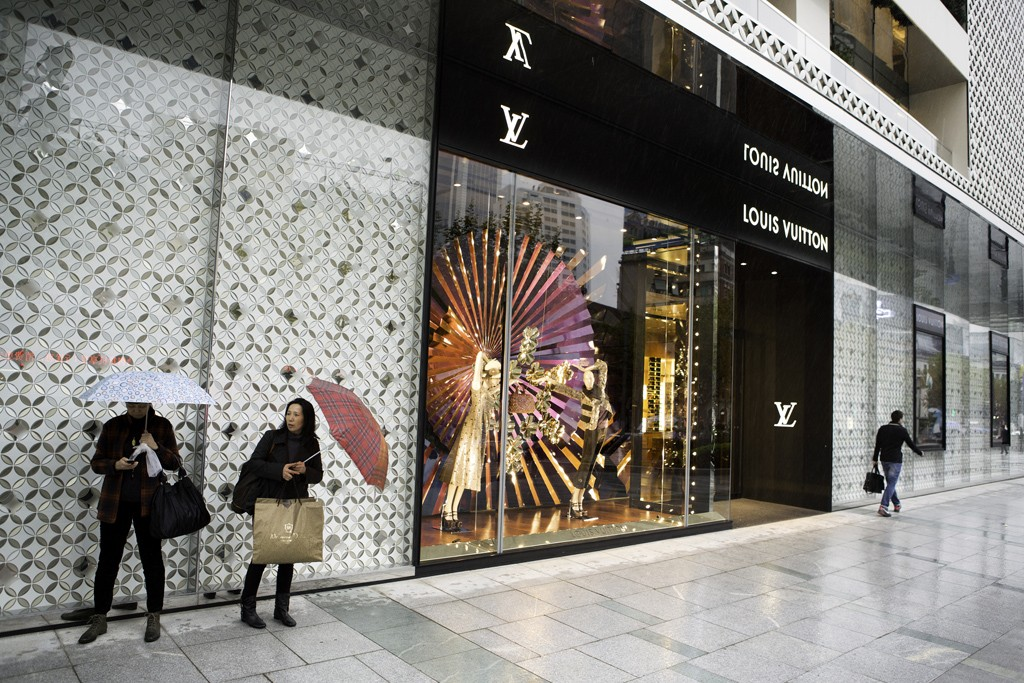 While vacancy rates are rising at other malls, Plaza 66 in Shanghai has a waiting list of brands hoping to open there.