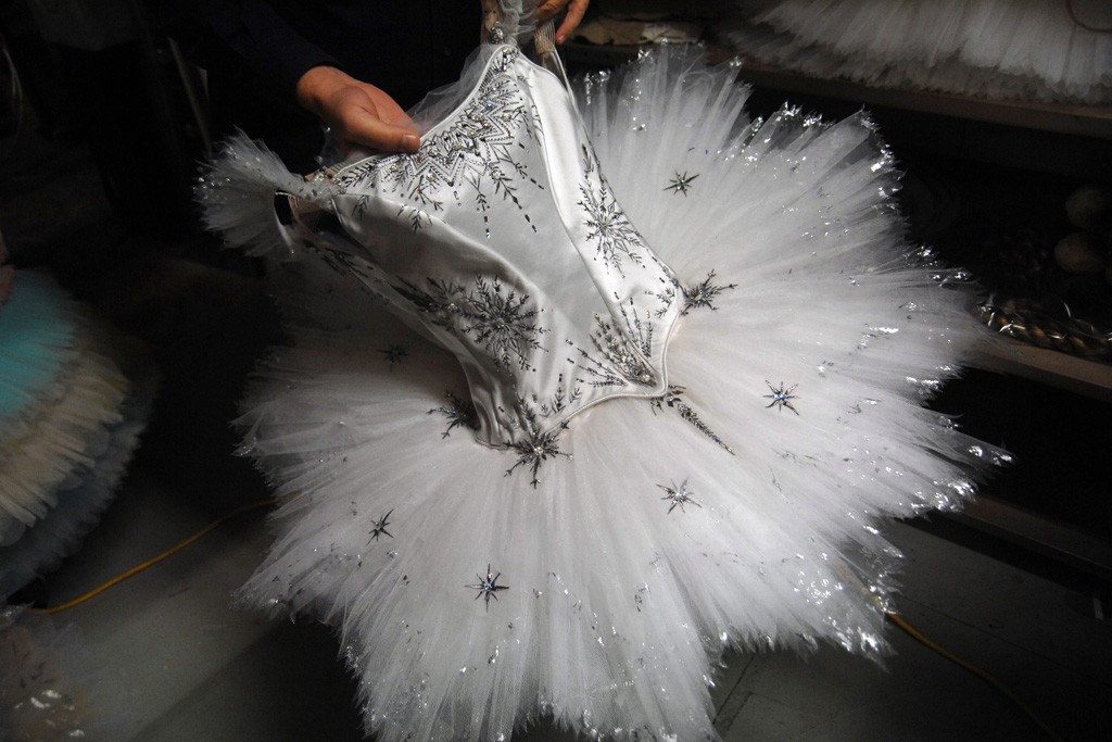 The Snow Queen costume.