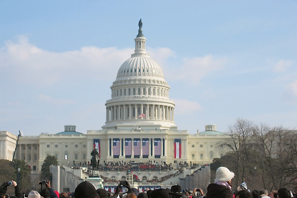 A view outside the Capital.