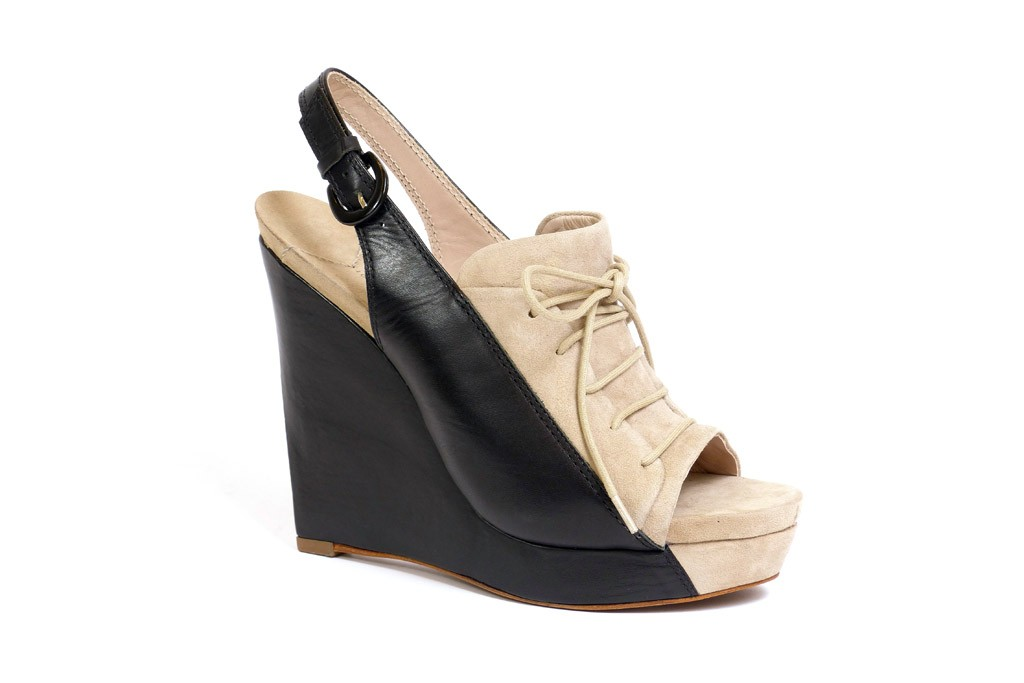 A 10 Crosby Derek Lam shoe.