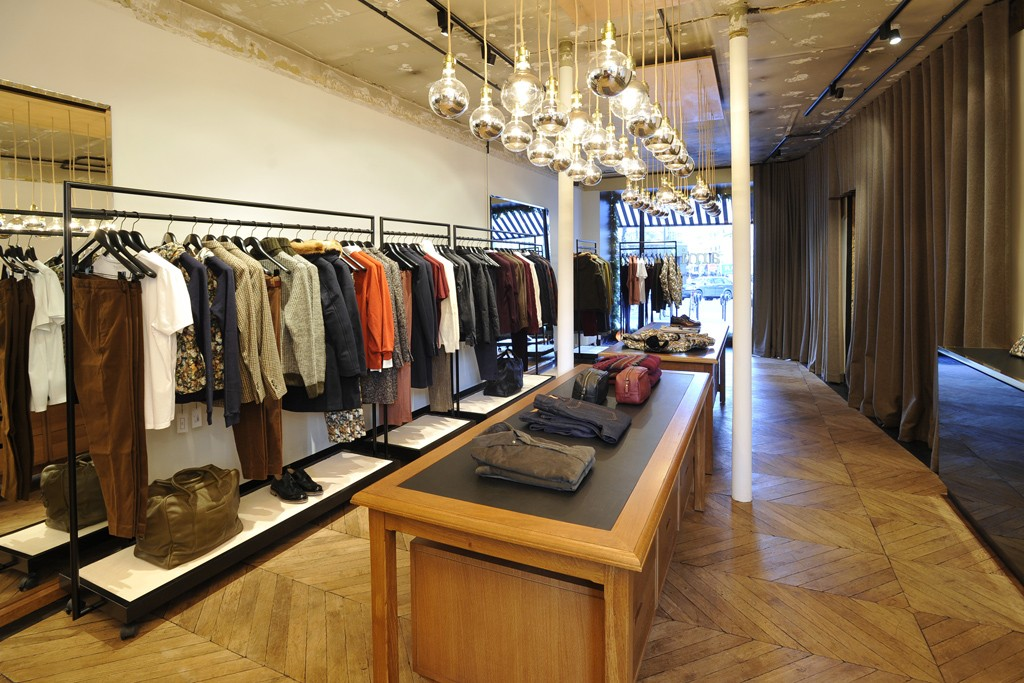A view of the Ami store.