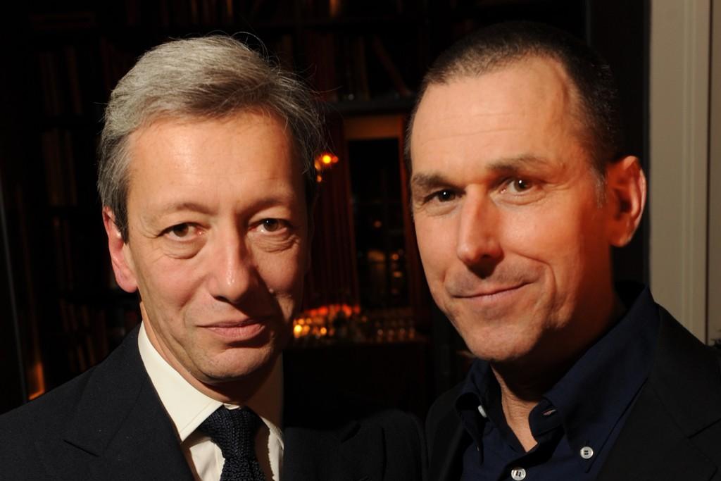 Frédéric Malle and Mark Lee