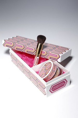 The Happiness by Design themed set from BareMinerals and Jonathan Adler.